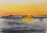 Auf Poel 2012, Aquarell, Kunst, Art, Malerei
