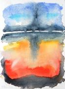 Farbstudie 2011, Aquarell, Art, Kunst, Malerei