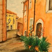Aquarell, Kunst, Art, Malerei, Mallorca
