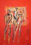 People 1 2009, Acryl, Kunst, Art, Malerei