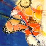 Minotauros, Acryl, Kunst, Malerei, Art