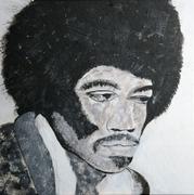 Jimi 2010 Acryl, Kunst, Portrait, Art, Menzer