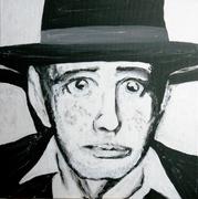 Josef 2010 Acryl, Kunst, Portrait, Art, Menzer
