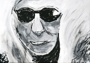 Acryl, Kunst, Portrait, Art, Menzer
